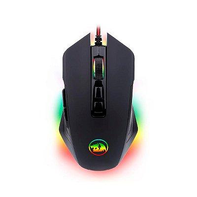 Mouse Gamer Redragon Solid Dagger 2 M715RGB-1 Preto