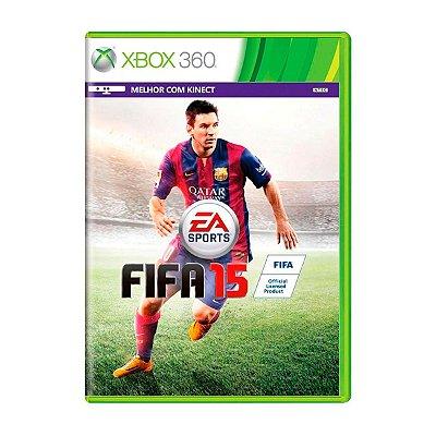 Jogo FIFA 15 - Xbox 360 Seminovo