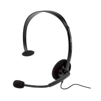 Headset Microsoft Básico Preto - Xbox 360 Seminovo