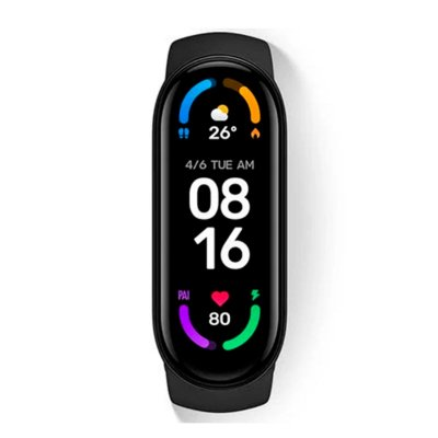 Relógio Xiaomi Mi Band 6 Preto