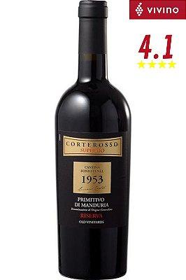 Vinho Corterosso 1953 Primitivo de Manduria Riserva 2017