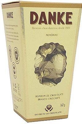 Caixa Bombons Danke De Chocolate Branco Crocantes