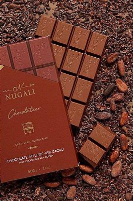 Barra Chocolate Nugali Ao Leite 45% 500g