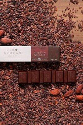 Chocolate Nugali Tablete Zero Açúcar 70%  40g
