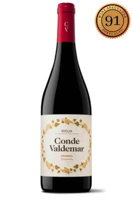 Vinho Conde Valdemar Crianza Magnum 2015