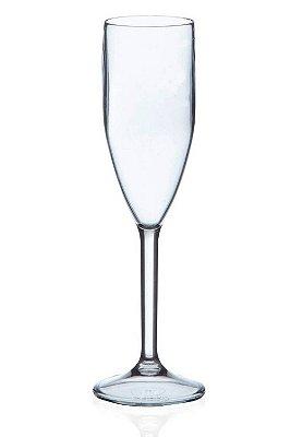 Taça Para Espumante Em Acrílico Transparente 180 ml