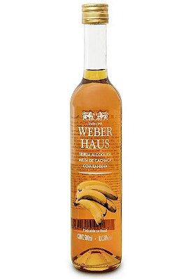 Cachaça C/ Banana Weber Haus  500ml