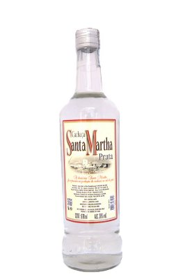 Cachaça Santa Martha Prata 670 ml