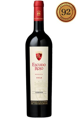 Vinho Escudo Rojo Reserva Carmenere 2018