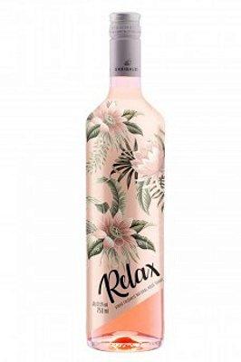 Vinho Frisante Relax Suave Rose 750 ml