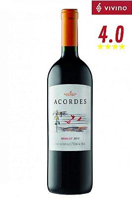 Vinho Garibaldi Acordes Merlot 2015