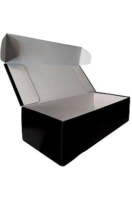 Caixa Boccati P/ 1 Garrafa Envelope Preta
