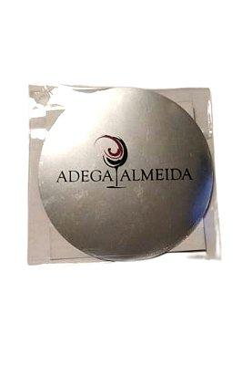 kit 3 Corta gotas personalizado Adega Almeida