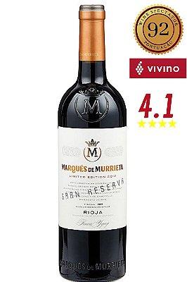 Vinho Marques de Murrieta Gran Reserva 2011