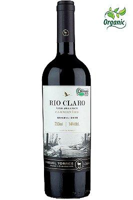 Vinho Rio Claro Organico Reserva Carmenere