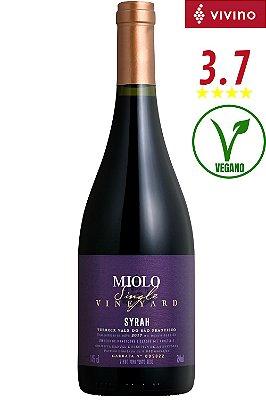 Vinho Miolo Single Vineyard Syrah 2020