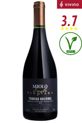 Vinho Miolo Single Vineyards Touriga Nacional 2020