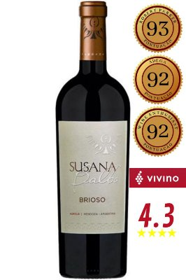 Vinho Susana Balbo Brioso 2017