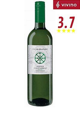 Vinho Cantina Della Torre Inzolia Pinot Grigio 2018