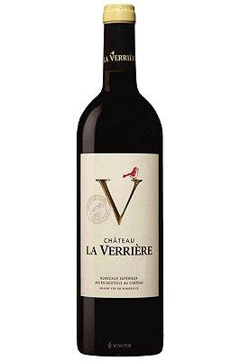 Vinho Château La Verriere Bordeaux Superieur 2018