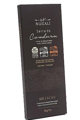 Chocolate Nugali Serra Do Conduru 80% Vegano 85g