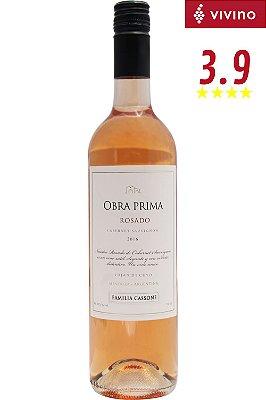 Vinho Obra Prima Cabernet Sauvignon Rosé 2018