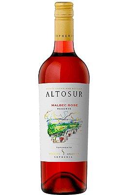 Vinho Altosur Malbec Rosé 2018