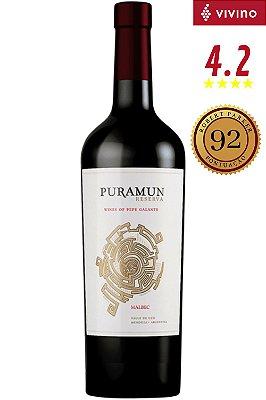 Vinho Puramun Reserva Malbec 2015