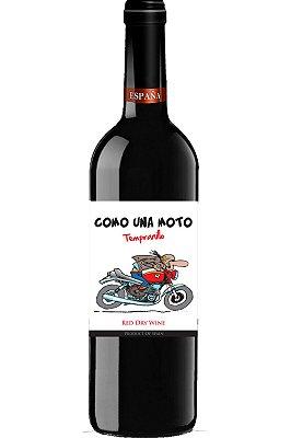 Vinho Como Una Moto Tempranillo 2018