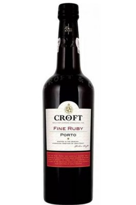 Vinho Do Porto Croft Fine Ruby
