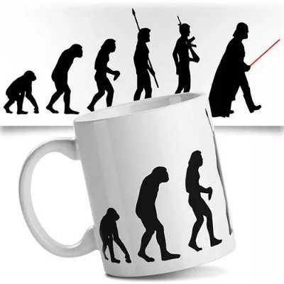 Caneca Star Wars Geek Evolução