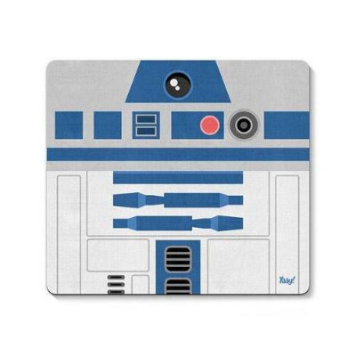 Mouse Pad Geek Side Faces R2d2