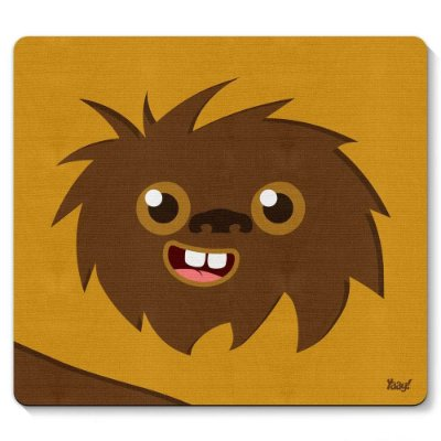 Mouse pad Geek Side Faces Woks