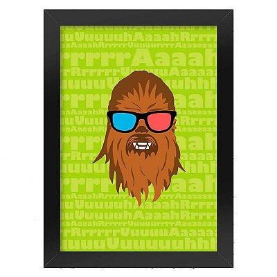 Poster Chewbacca Star Wars
