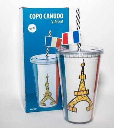 Copo Canudo Paris