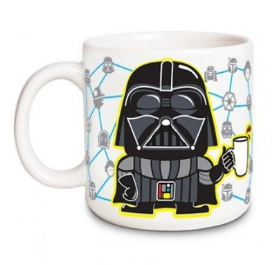 Caneca Darth Vader Coffee