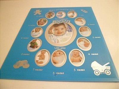 Porta Retrato Fases do Bebê