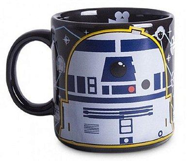 Caneca Robô R2D2 Star Wars