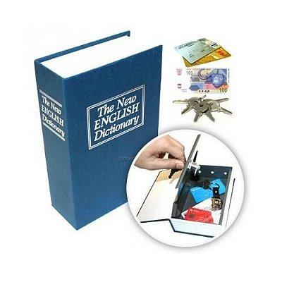 Cofre Dicionario Azul
