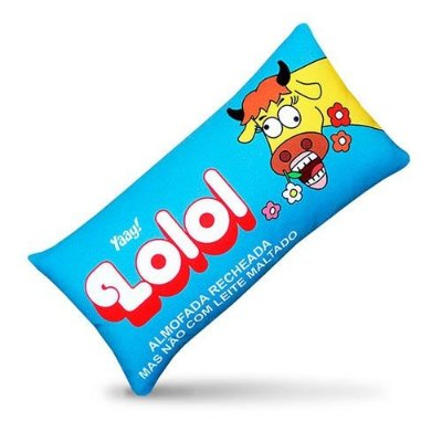 Almofada Retro Chocolate Lolol