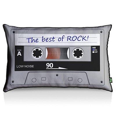 Almofada Fita K7 Best Rock