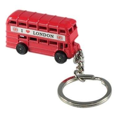 Chaveiro Ônibus Londres