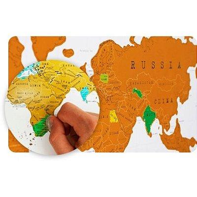 Mapa Mundi Raspadinha
