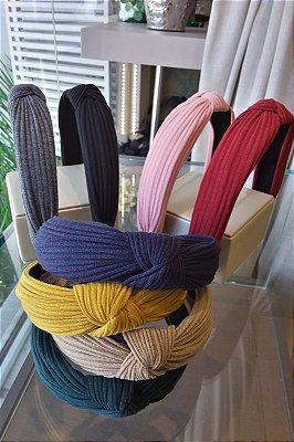 Tiara nó estilo turbante - verificar disponibilidade de cor