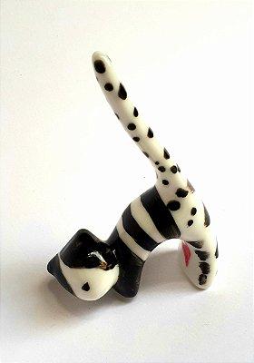 Porta-aneis CAT Black&White Pequeno