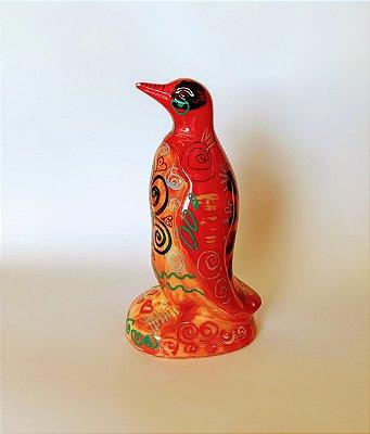 Pinguim Tatoo Red Grande