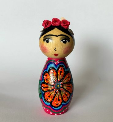 Boneca Frida Flower Power