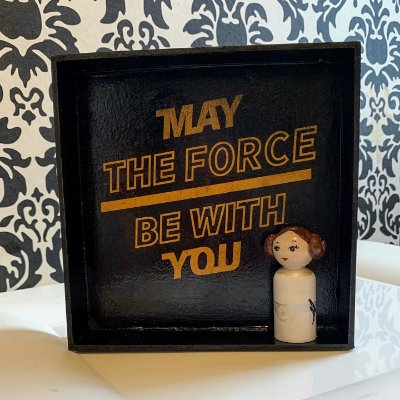 Quadro nicho Princesa Leia