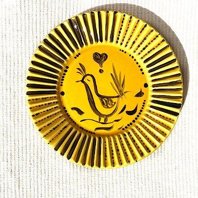 Prato Passarinho Yellow M