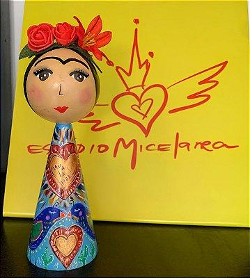 boneca Frida Passarinhos G